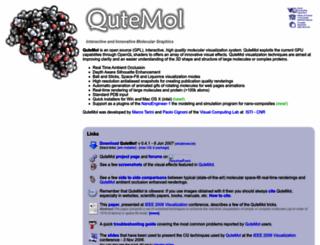 qutemol.sourceforge.net screenshot