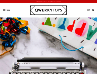 qwerkywriter.com screenshot