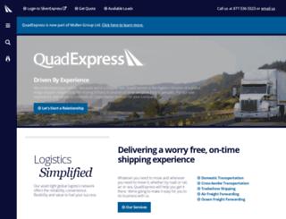 qwexpress.com screenshot
