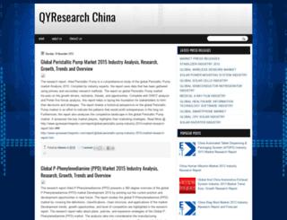 qyresearchchina.blogspot.com screenshot