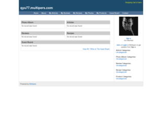 qyu77.multipers.com screenshot