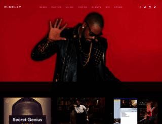 r-kelly.com screenshot