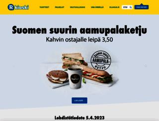 r-kioski.fi screenshot