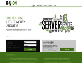 r-u-on.com screenshot