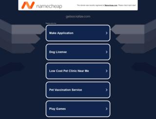 r.getsocialize.com screenshot
