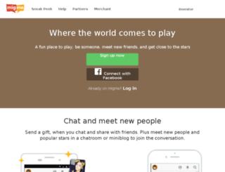 r.mig33.com screenshot