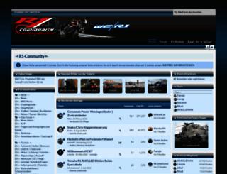 r1-community.de screenshot