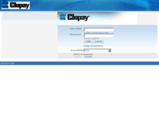 r12benefits.clopay.com screenshot