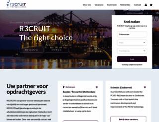 r3cruit.nl screenshot