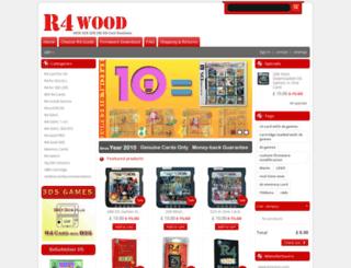 r4wood.com screenshot