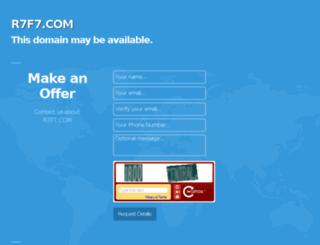 r7f7.com screenshot