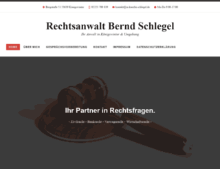 ra-kanzlei-schlegel.de screenshot