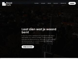 raadhuis.com screenshot