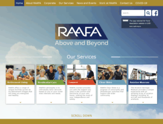 raafawa.org.au screenshot