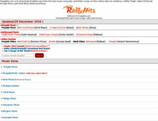 raaghits.com screenshot