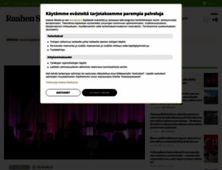 raahenseutu.fi screenshot
