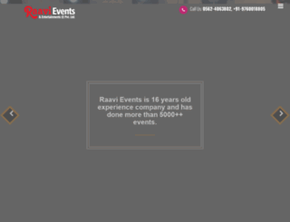raavievents.com screenshot