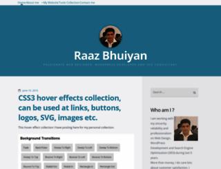 raazxplorer.wordpress.com screenshot