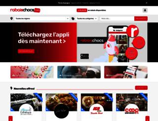 rabaischocs.com screenshot