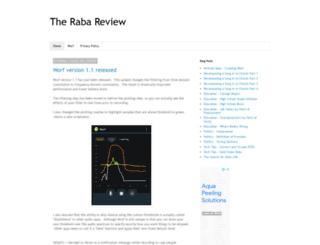 rabareview.com screenshot