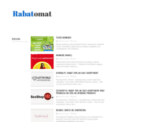 rabatomat.blogspot.com screenshot