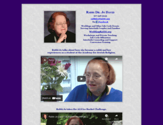 rabbijodavid.org screenshot