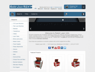 rabbitlaserusa.com screenshot