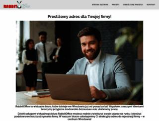 rabbitoffice.pl screenshot