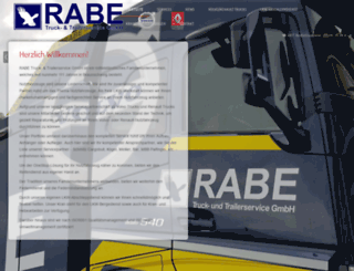 rabe-trucks.de screenshot