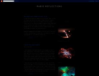 rabidreflections.blogspot.com screenshot