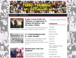 rabiscorascunhado.com screenshot