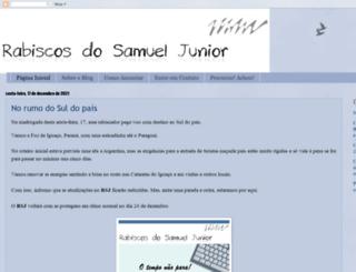 rabiscosdosamueljunior.blogspot.com.br screenshot