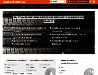 rabljenegume.com screenshot