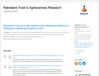 rabobank-food-agribusiness-research.pr.co screenshot