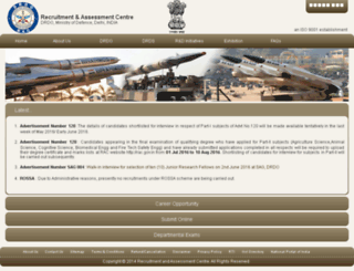 rac.gov.in screenshot