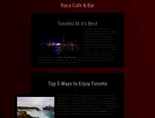 racacafeandbar.com screenshot