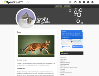 racasdegatos.openbrasil.org screenshot