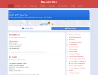 raccontioltre.it screenshot