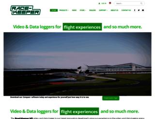 race-keeper.co.uk screenshot