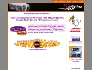 raceandstreet.com screenshot