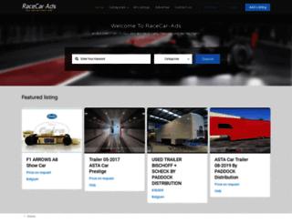 racecar-ads.com screenshot