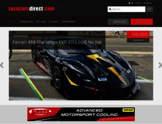 racecarsdirect.com screenshot