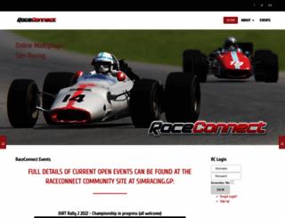 raceconnect.com screenshot