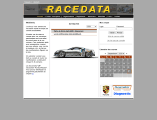 racedata.ch screenshot