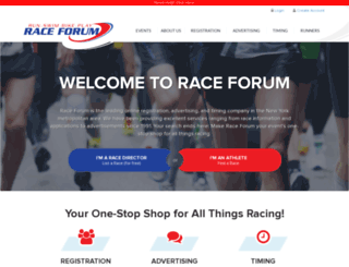 raceforum.com screenshot