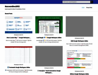 raceonline2012.org screenshot