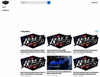 racepages.com screenshot