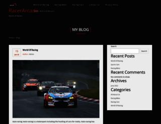 racerarcade.com screenshot