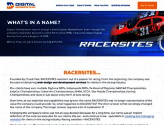 racersites.com screenshot