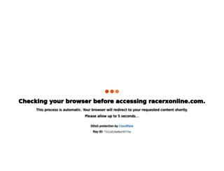 racerxonline.com screenshot